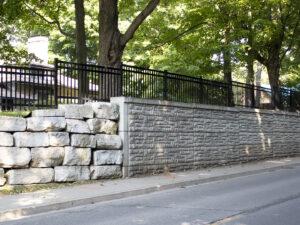Narrow Footprint Retaining Wall